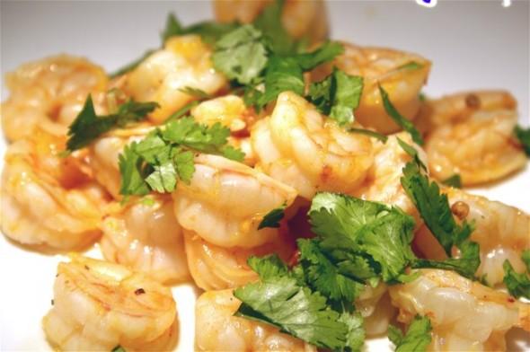 Orange-Chipotle Shrimp - Koko's Kitchen