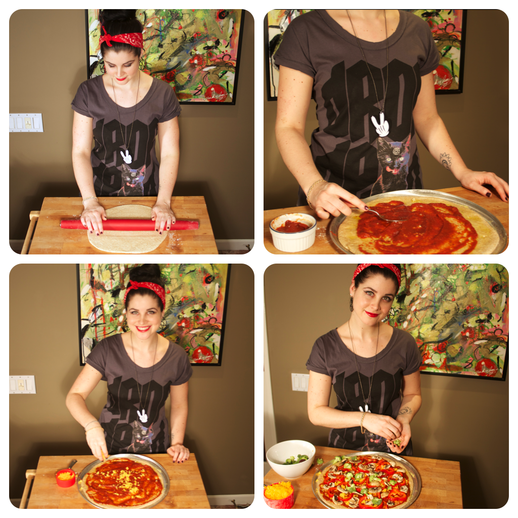Vegetarian and Vegan Pizza Recipes | Koko's Kitchen | Drop Dead Clothing