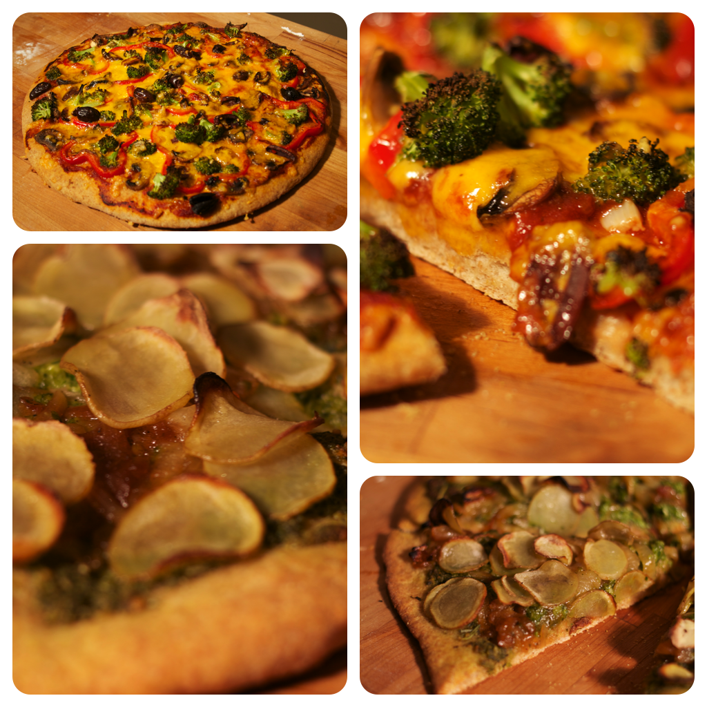 Drop Dead Recipes- Vegetarian and Vegan Pizza Recipes