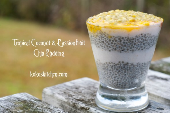 Tropical Chia Pudding 1