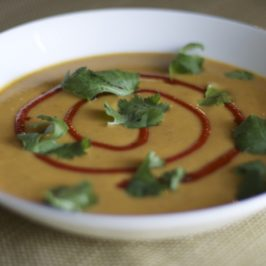 Red Curry Squash Soup