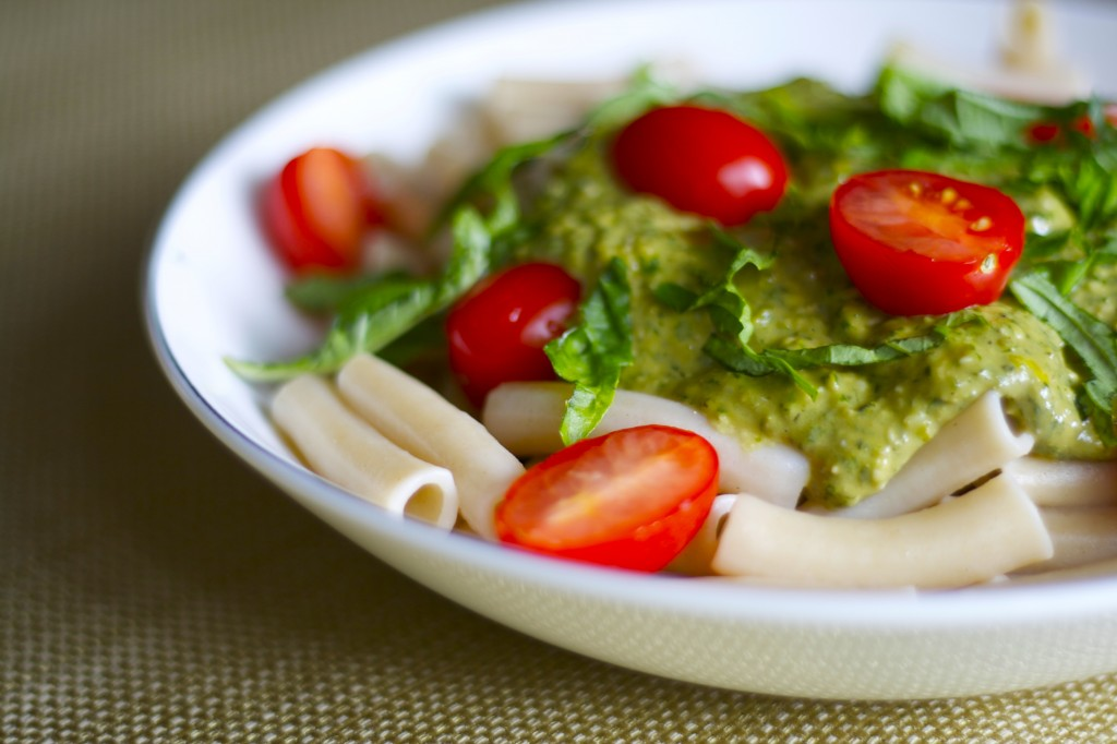 Hemp Pesto Pasta