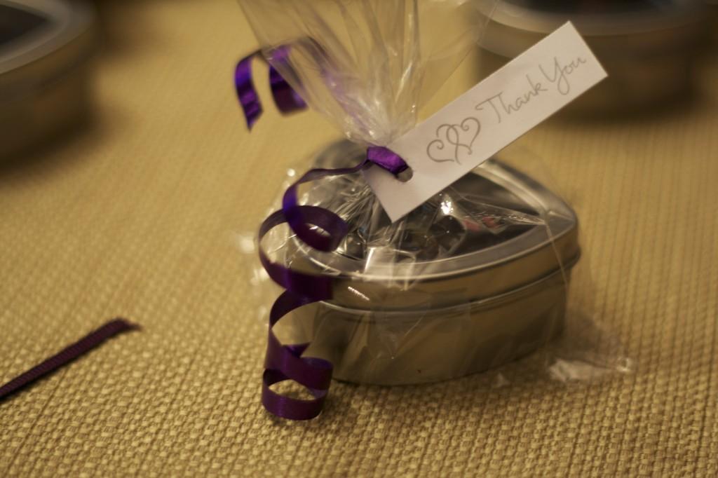 Bridal Tea Favours