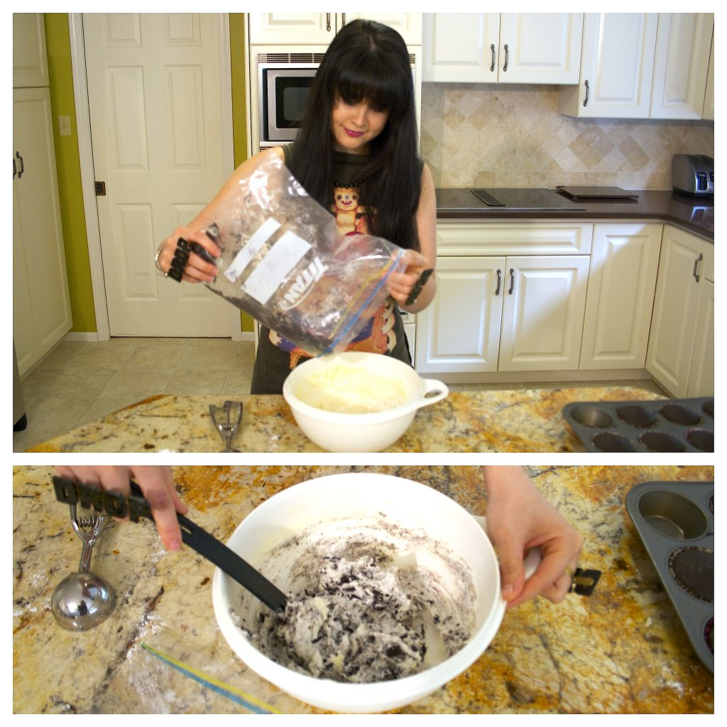 Cookies 'n' Creme Cupcakes (Vegan) | Koko Brill | Koko's Kitchen | Drop Dead Recipes | Drop Dead Clothing