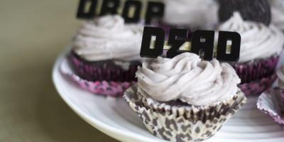 Drop Dead Recipes Cupcakes