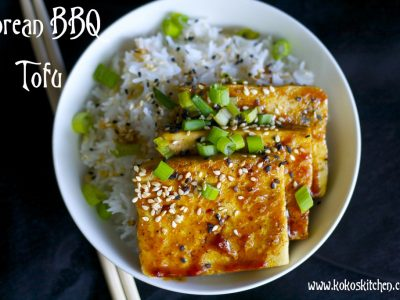 Korean BBQ Tofu | Koko's Kitchen
