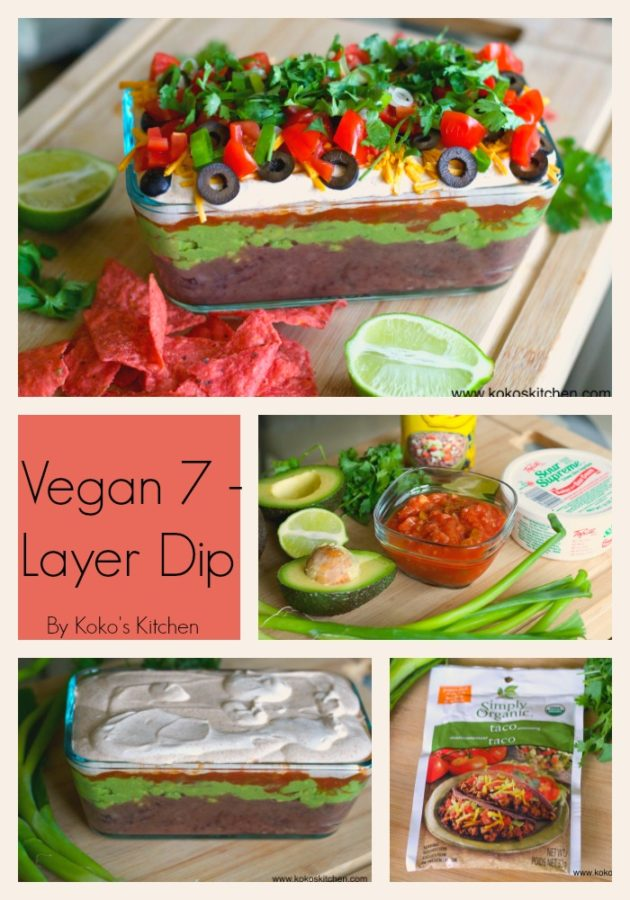 7 Layer Dip | Koko's Kitchen