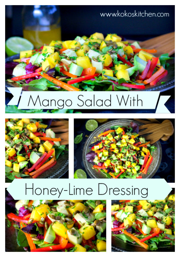Mango Salad | Koko's Kitchen