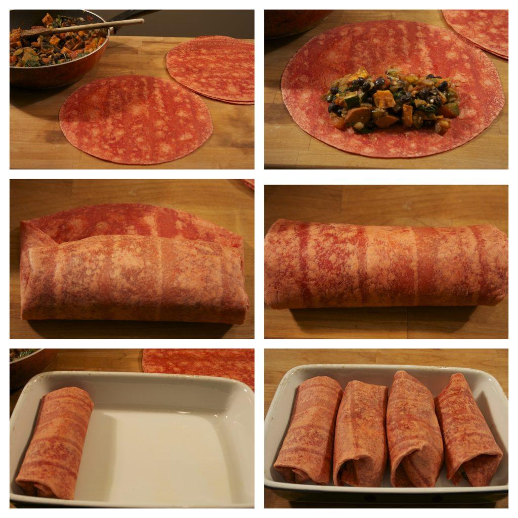 Koko's Kitchen | Drop Dead Clothing | Vegan Burritos with Avocado Cilantro Sauce