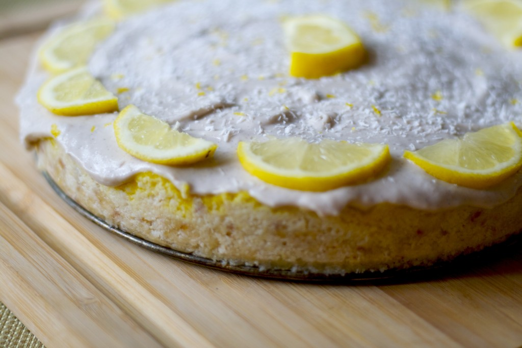 Raw Lemon Meringue Pie