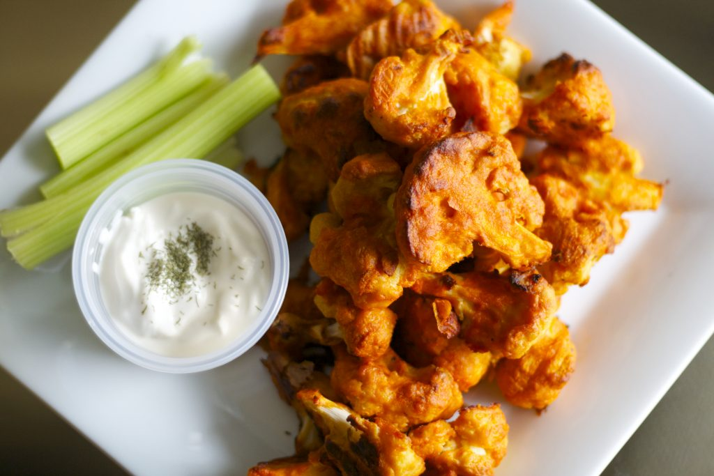 Cauliflower Buffalo Wings | Koko's Kitchen