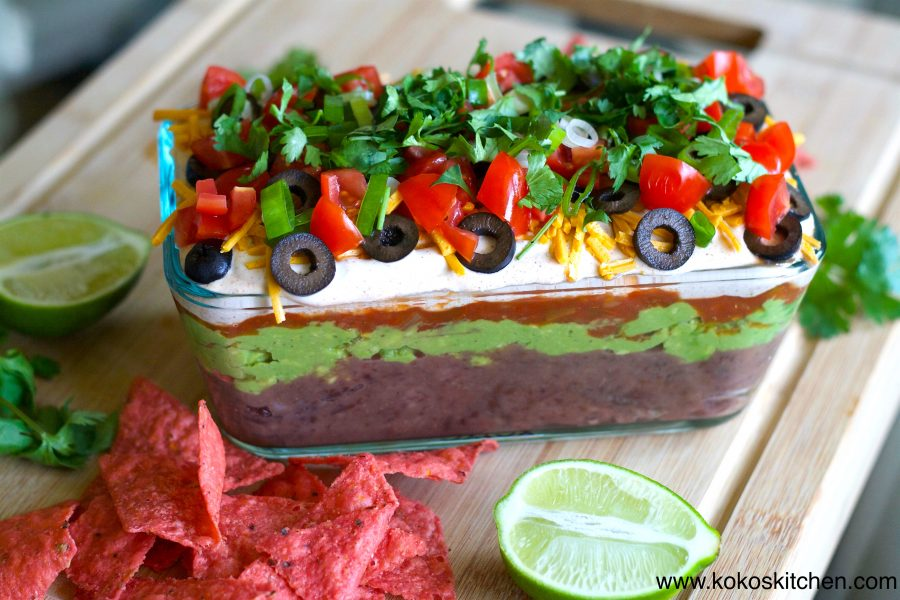7 Layer Dip - Koko's Kitchen