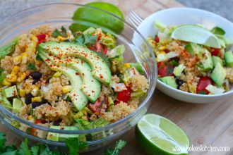 Cumin-Lime Quinoa Salad | Koko's Kitchen