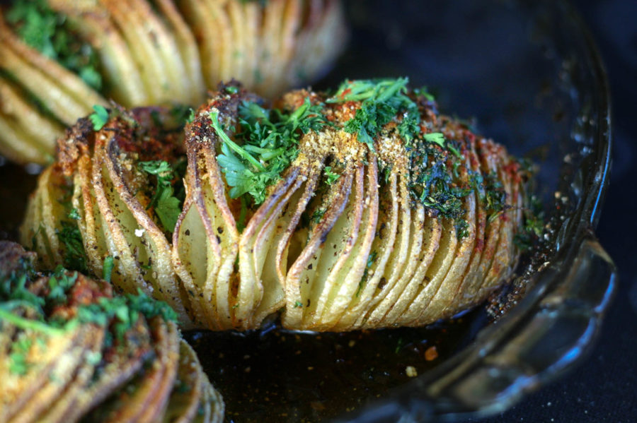 Hasselback Potatoes | Koko's Kitchen