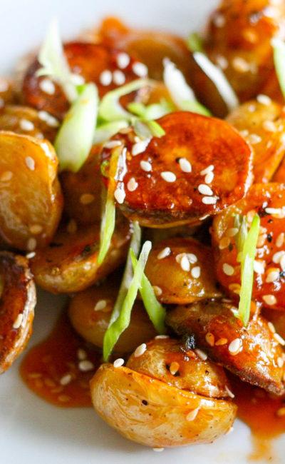 Koko's Kitchen | Honey Chili Potato