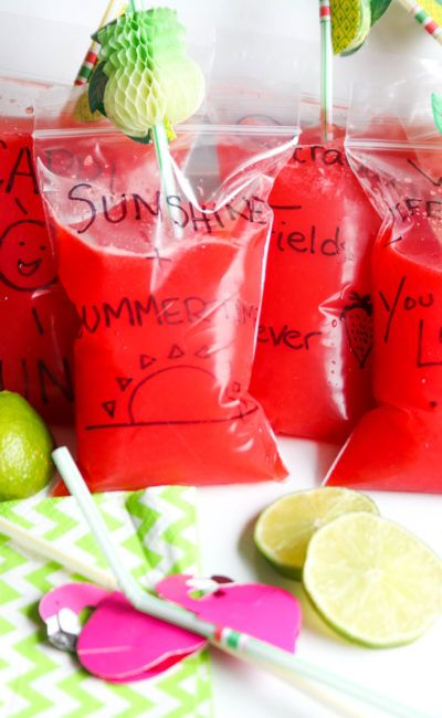 Adult Capri Sun Strawberry Limeade