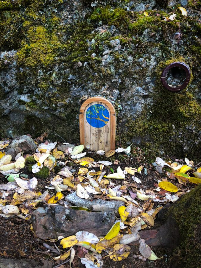 Mt. Erskine | Fairy Doors | Salt Spring Island | Koko's Kitchen